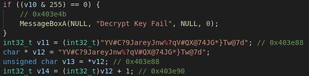 Decryption Routine