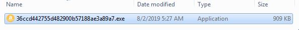 Zeroed File