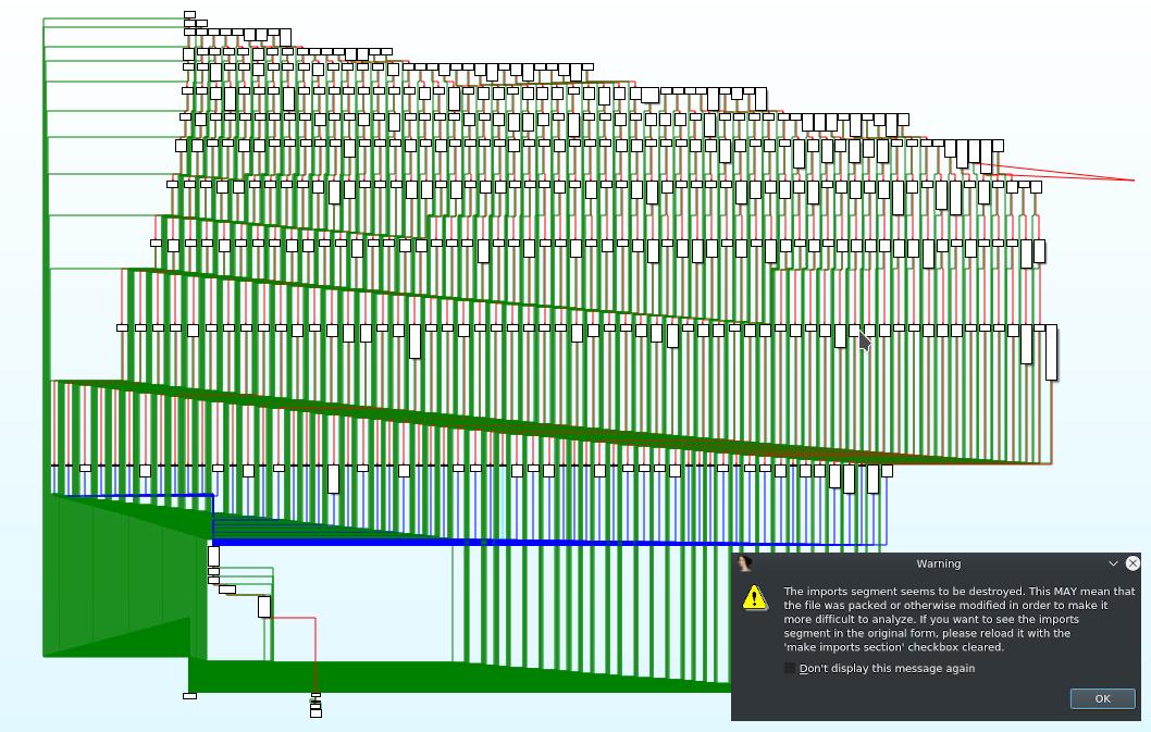 IDA: Screwed up call graph